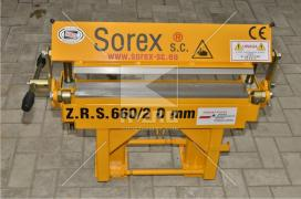 Bending machine Sorex ZGR 660