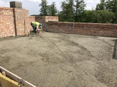 ISOLITE foam concrete. Aerated concrete screed on the roof. Warming. R