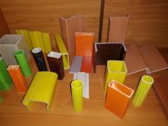 Profiles of fiberglass construction construction PSK