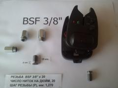 Repair of signaling devices, replacement of the bolt (folder)