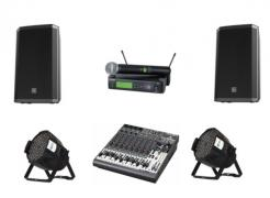 Sales and installation of audio equipment