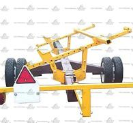 Truck under the harvester from 6 meters and one biaxial biaxial, buy