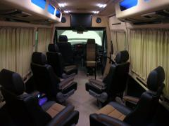 Tuning Internal Interior paneling of the Neoplan, hauling interior of the bus, repair the bacon
